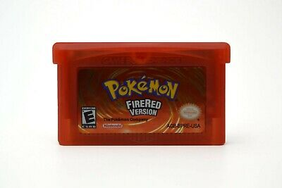 FREE SHIPPING - Pokemon Fire Red - GBA US Seller