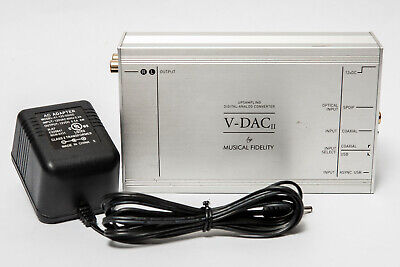 Musical Fidelity V-DAC II Processor Digital Analog Converter for sale  Shipping to India