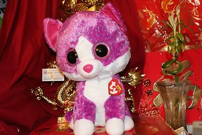 "TY BEANIE BOOS CHARLOTTE CAT.JUMBO.18"".CLAIRE'S EXCLUSIVE.2017.MWNMT.NICE GIFT"