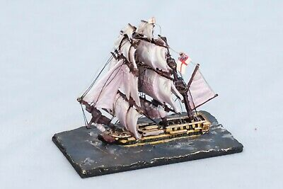 Miniature Metal Model Napoleon Naval Battle Ship Trafalgar War Game