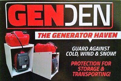 Honda Eu2000i Yamaha Compact Generator Weather Run Box Out Of Rain Snow