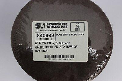 "STANDARD ABRASIVES 522501 SOCATT TSM DISCS 3/"" 24 GRIT A//O 2 PLY Box of 50"