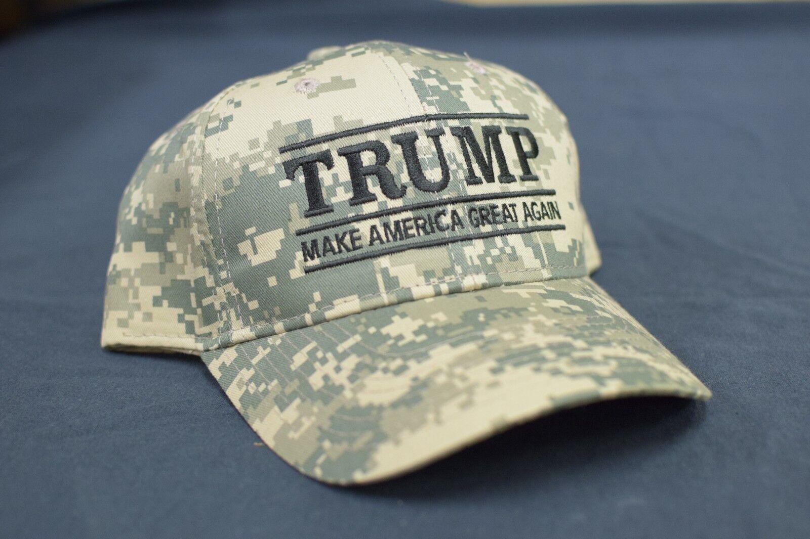 Make America Great Again -Donald Trump Hat Republican 2020- NEW Digital Camo Cap