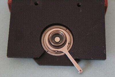 Leitz Wetzlar Microscope Antique Condenser Darkfield Mikroskop Table
