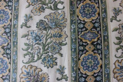 "Antique French Linen Ethnic Provencal Original Sample Fabric ""Toile de Lin""c1912"