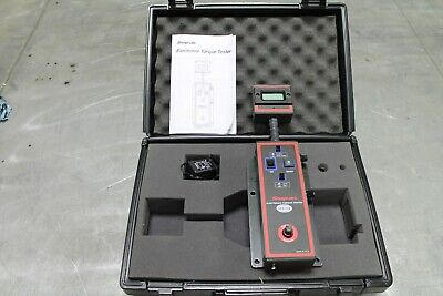 Snap On Electronic Torque Tester 100-1000 In Lbs