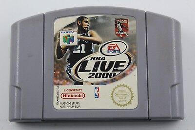 NINTENDO 64 N64 NBA LIVE 2000 SOLO CARTUCHO PAL EUR