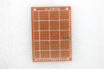 10pcs 5cm X 7cm New Pcb Prototype Perf Universal Board Breadboard Pcb Board