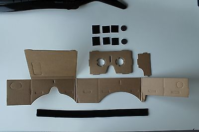 So wird das Google Cardboard geliefert
