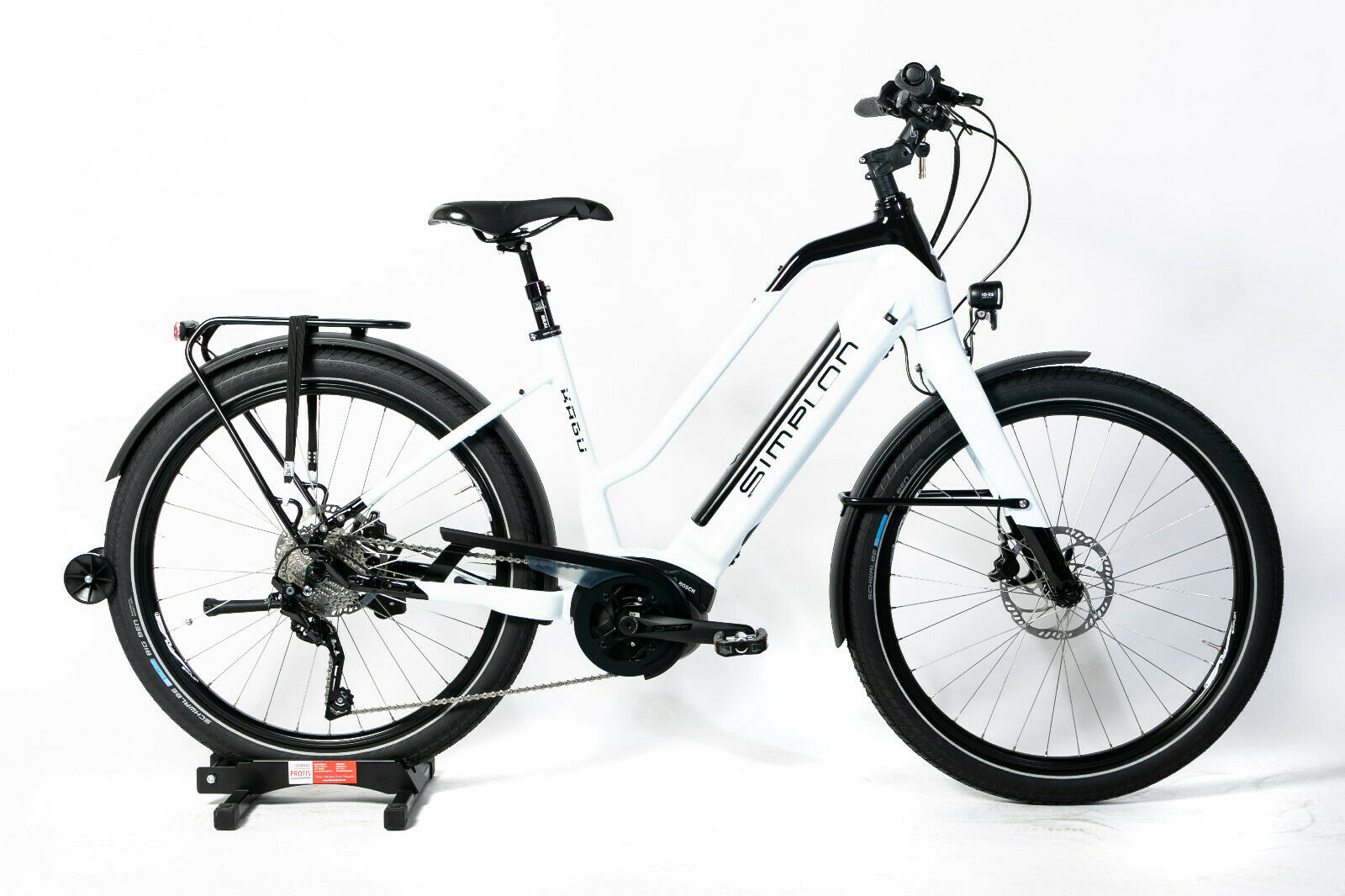 26 Zoll E-Bike Simplon Kagu Trapez Unisex weiß Bosch 500Wh Modell 2020 UVP 3599