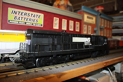 MTH O Gauge G.E. C30-7 Diesel Locomotive used #8073 W/proto-sound QSI road NS, used for sale  Reading