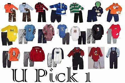 2 Piece Layette Set - Carters Boys Outfit Pants Bodysuit Shirt 2 piece Set Baby Little Layette Wonders