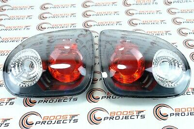 Spyder Auto Euro Style Tail Lights Black For 01-03 Ford F150 Flareside 5003157