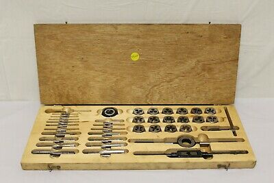 Champion Tap And Die Set In Original Hardwood Box C2