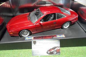 bmw 850i coup rouge bordeaux au 1 18 revell 8811 master piece voiture miniature ebay. Black Bedroom Furniture Sets. Home Design Ideas