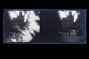Croisière Norvège ? Photo amateur Plaque stéréo NÉGATIF 45x107mm ca 1920 - France - Type: Procédés anciens Authenticité: Tirage original - France