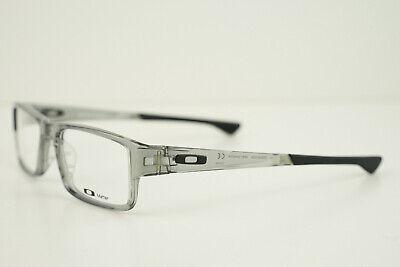 OAKLEY AIRDROP OX8046-0955 55-18-143 Grey Shadow w/ Black Eye Glasses