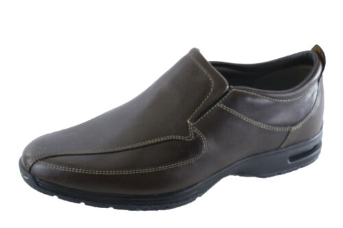cole haan w nike air everett brown leather slipon new
