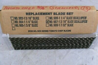 Blade Set 316 Scalloped Prince Castle For 903 Series Tomato Chef Slicer X30