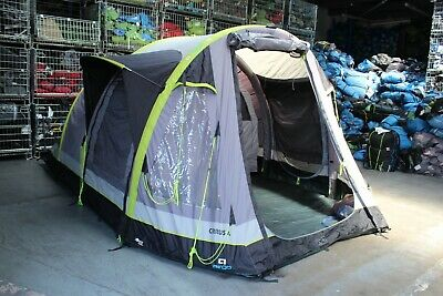 Hi Gear AIRGO Cirrus 4 Inflatable Tent with Pump +++ RRP £600 +++ 833