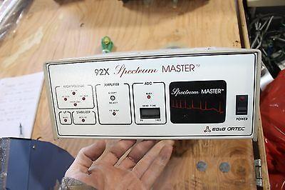 Ortec Egg 92x Spectrum Master Spectrometer Portable