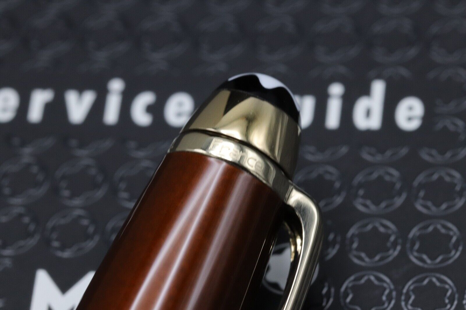 Montblanc Meisterstuck 164 Classique Solitaire Citrine Ballpoint Pen 4