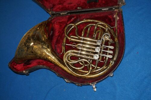 KING Double French Horn 4 Valve w Case