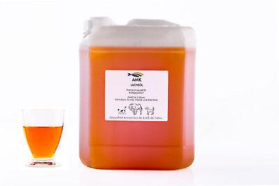 Lachsöl 5L,für Hunde,Katzen,Omega3, 100% Naturprodukt,Barfen, 3,98€/1L