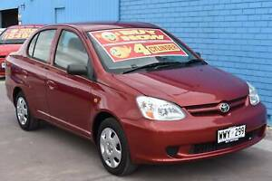2003 Toyota Echo NCP12R Sedan 4dr Auto 4sp 1.5i Enfield Port Adelaide Area Preview