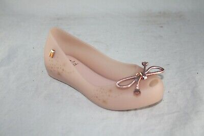 32391 Melissa Ultragirl Elements Flat 01822 light pink matte slip on Element Flat Light