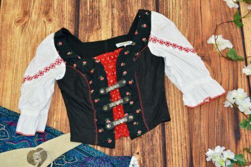 Dirndl blouse Traditional Bavarian blouse Oktoberfest blouse Size 36