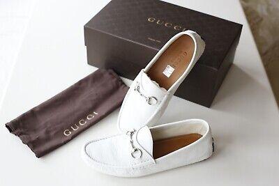 Gucci Loafer Mens White - UK 7