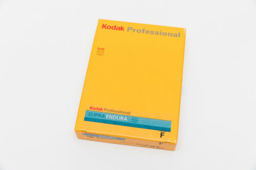 Sealed 5x7 Kodak Supra Endura F Surface Color Darkroom Paper Pack- 100 Sheets