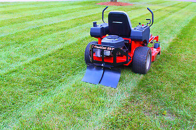 Lawn Striping Kit / Lawn Striper Kit, Universal & Adjustable with Built In Hitch
