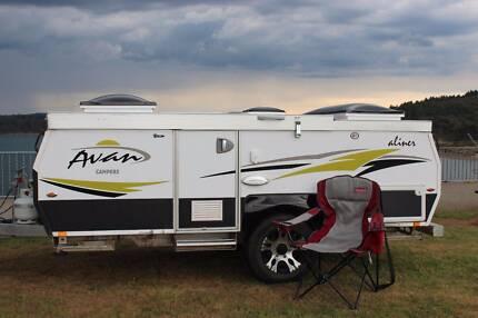 2016 Avan Aliner Camper Australian Made, Excellent Condition