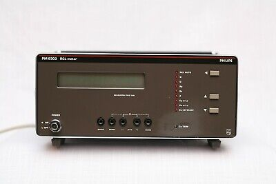 Philips Pm6303 Lcr Automatic Meter