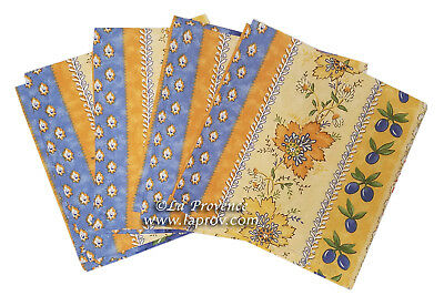 French Provence 100% Cotton Set of 4 Napkins - Monaco Indecent
