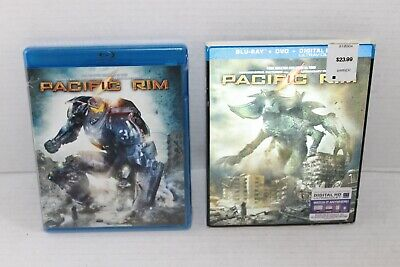 BLU RAY DVD DIGITAL HD ULTRAVIOLET BRAND NEW FACTORY SEALED PACIFIC RIM NICE !!