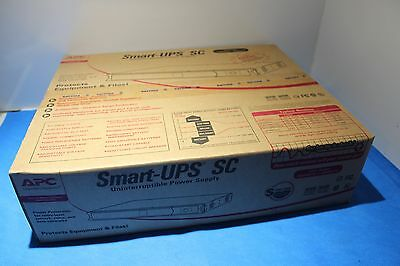 NEW Smart UPS SC 450VA 120V 280W 1U RackMount/Tower SC450RM1U APC