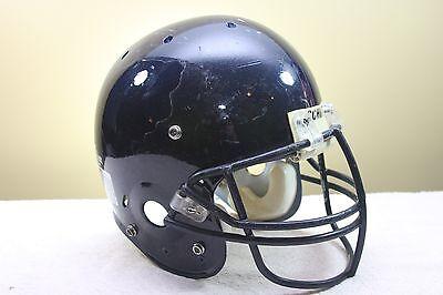 SCHUTT AiR Jr Used Worn Youth Football Helmet Navy/Orange Med. OPO mask 2008 C ()