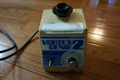 Vwr Genie 2 Vortexer Vortex Shaker Mixer Used Lab  Rotator Mini Touch Vied
