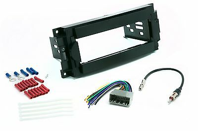Single Din Dash Kit for Radio Stereo Install Wire Harness Antenna Adapter Dodge Dakota Radio Wiring
