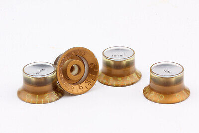"1-11 Gold /""Eleven/"" Speedknobs for US//CTS Potis Set 4 fits Gibson®"