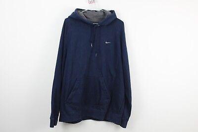 Mens Nike Blue Hoodie Size See Description No.C598 14/8