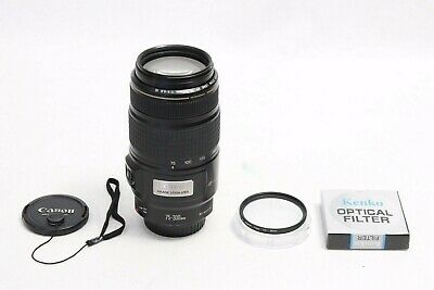 Canon EF 75-300mm f/4-5.6 IS USM Lens EXCELLENT IMAGE STABILIZER Digital EOS 70