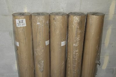 """48"""" x 600' Poly Coated Kraft Paper Roll (oil resistant)"""