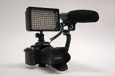 Pro G40 Vm Xl-2l Hd Camcorder Video Mic Light For Canon V...