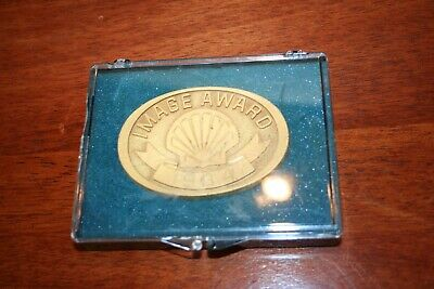 Vintage Shell Oil 1984 IMAGE Year Award MEDAL