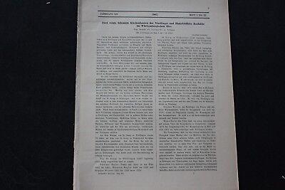 1904 ...Bauwesen 1 / Nördlingen und Dinkelsbühl