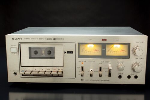 Sony TC-206SD Stereo Cassette Deck - BEAUTIFUL! REFURBISHED!